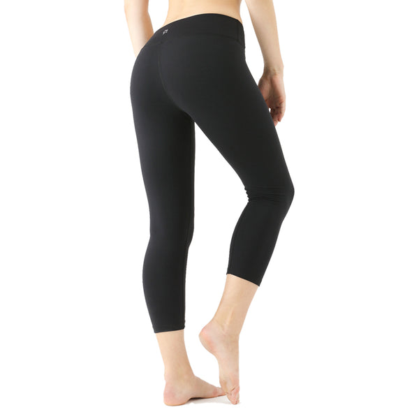 CHICMODA Slimming Yoga Capris with Hidden Pocket