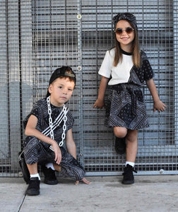 Bandana print drops the mic on hottest kids' street wear!