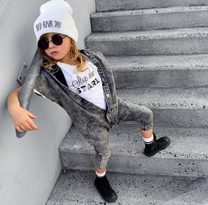 Rompersm with style. Luxury kids streetwear.