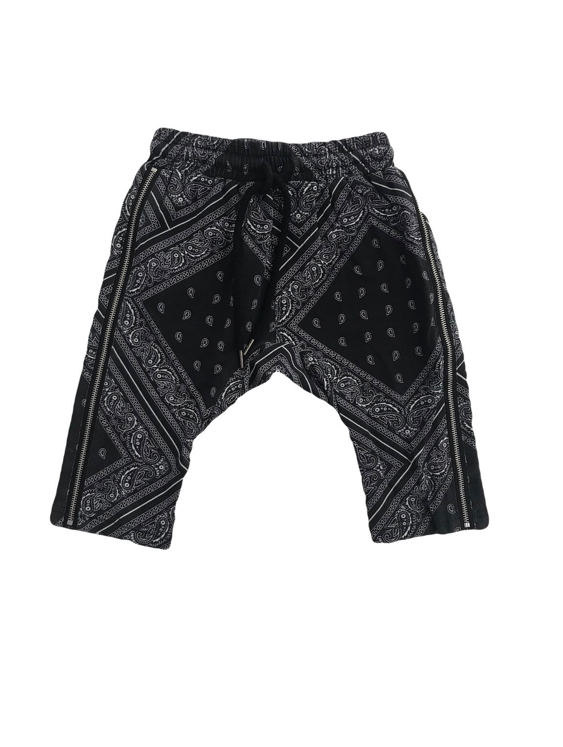 Bandana Print Kids Shorts