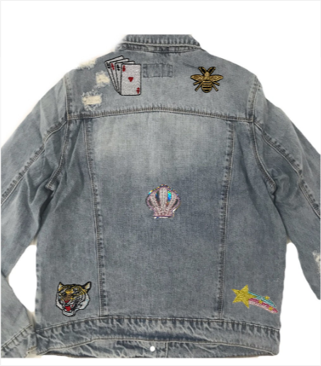 Personalise your Denim Jackets with Patches!!
