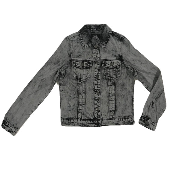 Women's Classic Denim Jacket - Acidwash