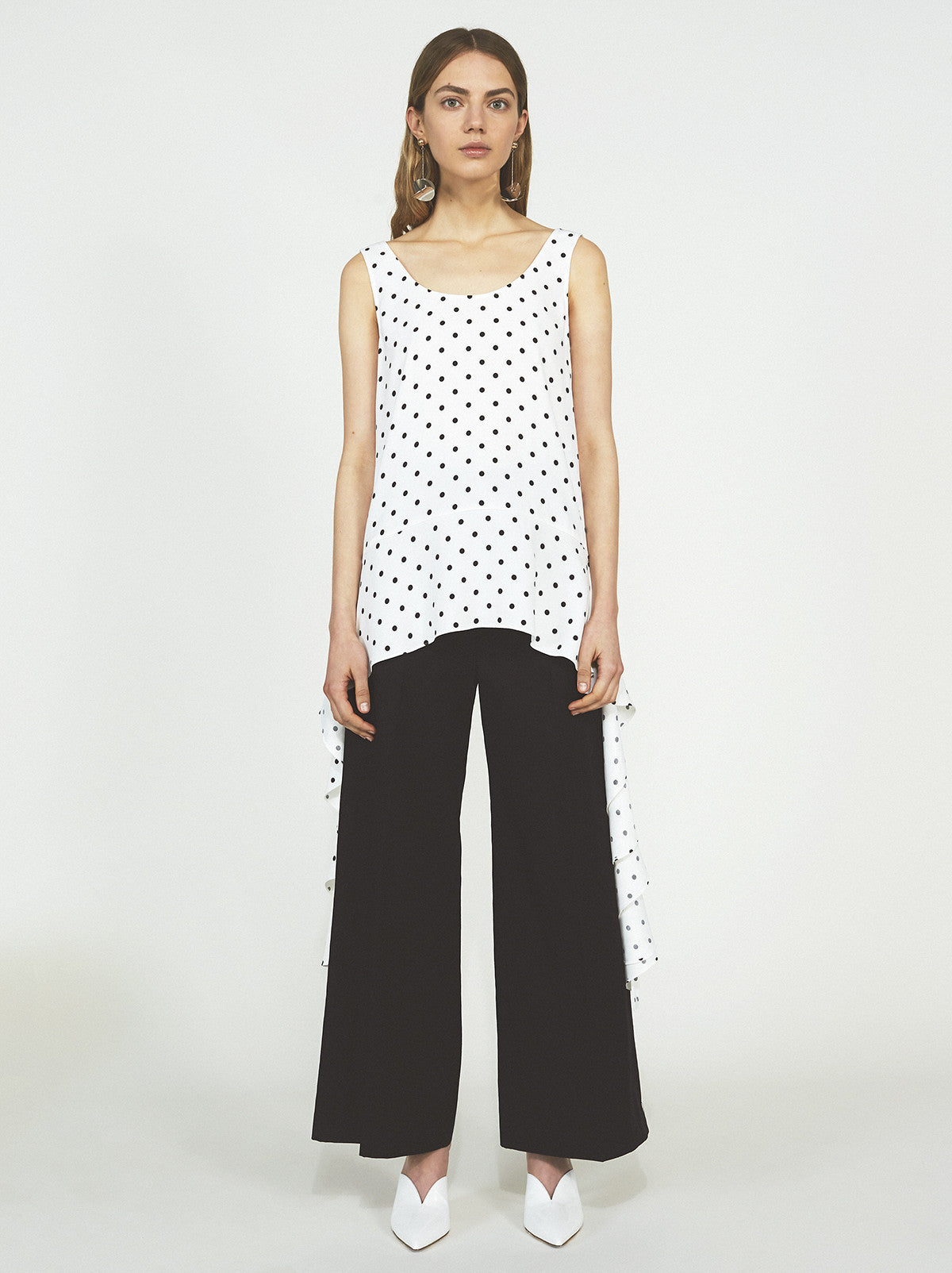 Diana Polka Dot Top