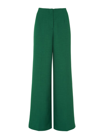 Agnes Green Tailored Trousers