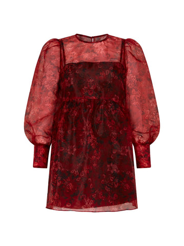 Alice Floral Mini Smock Dress