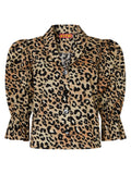 Bretta Leopard Print Cotton Top by KITRI Studio