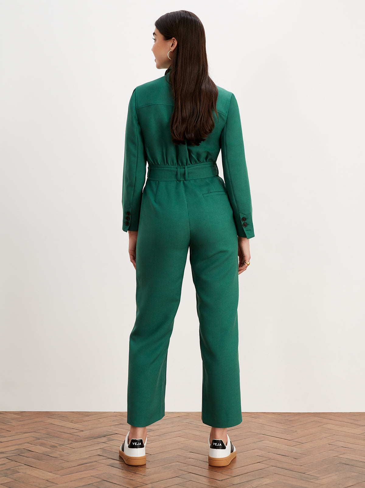 Celeste Green Tailored Jumpsuit