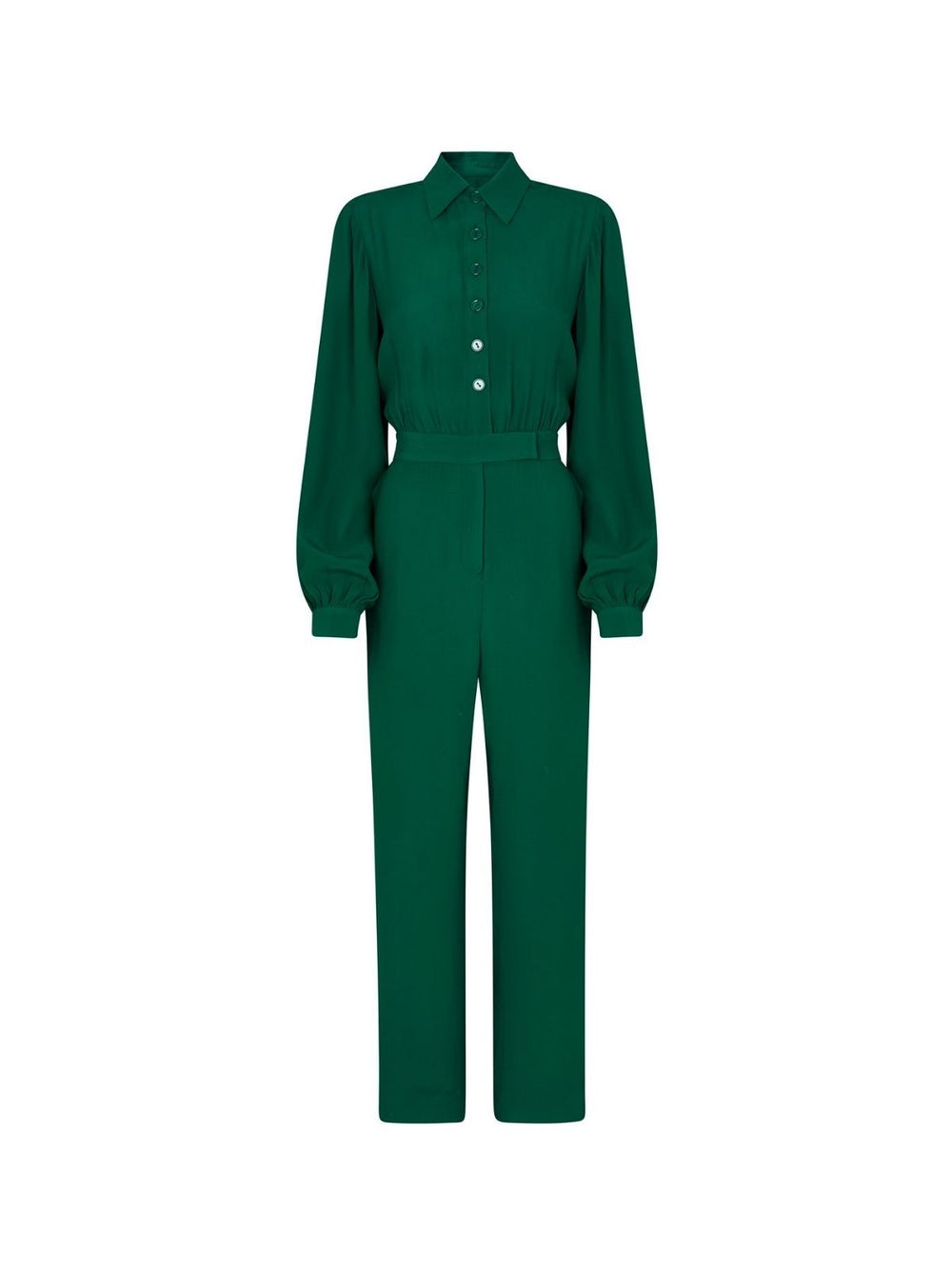 Herrera Green Jumpsuit by KITRI Studio