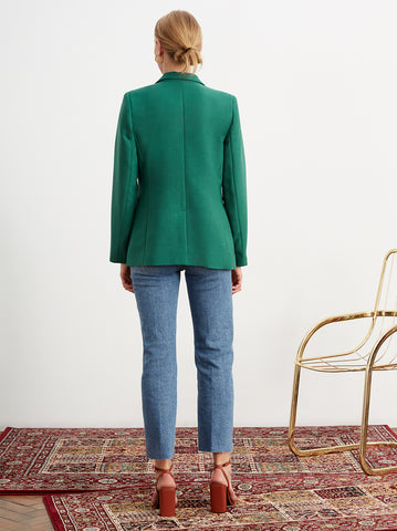 Holly Green Tailored Jacket by KITRI Studio