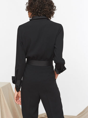 Roland Tuxedo Tailored Jumpsuit by KITRI Studio