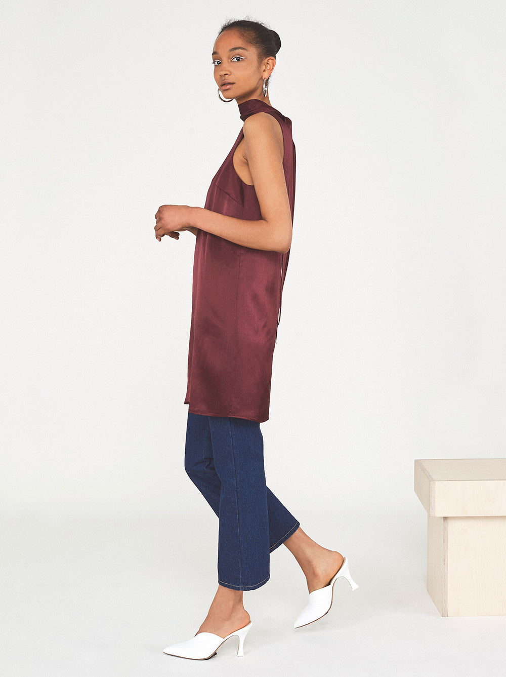 Adagio Scarf Neck Dress