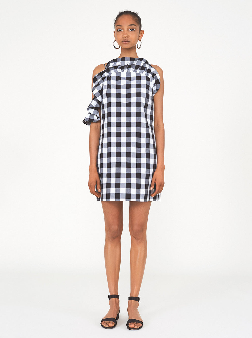 Alison Gingham Mini Dress