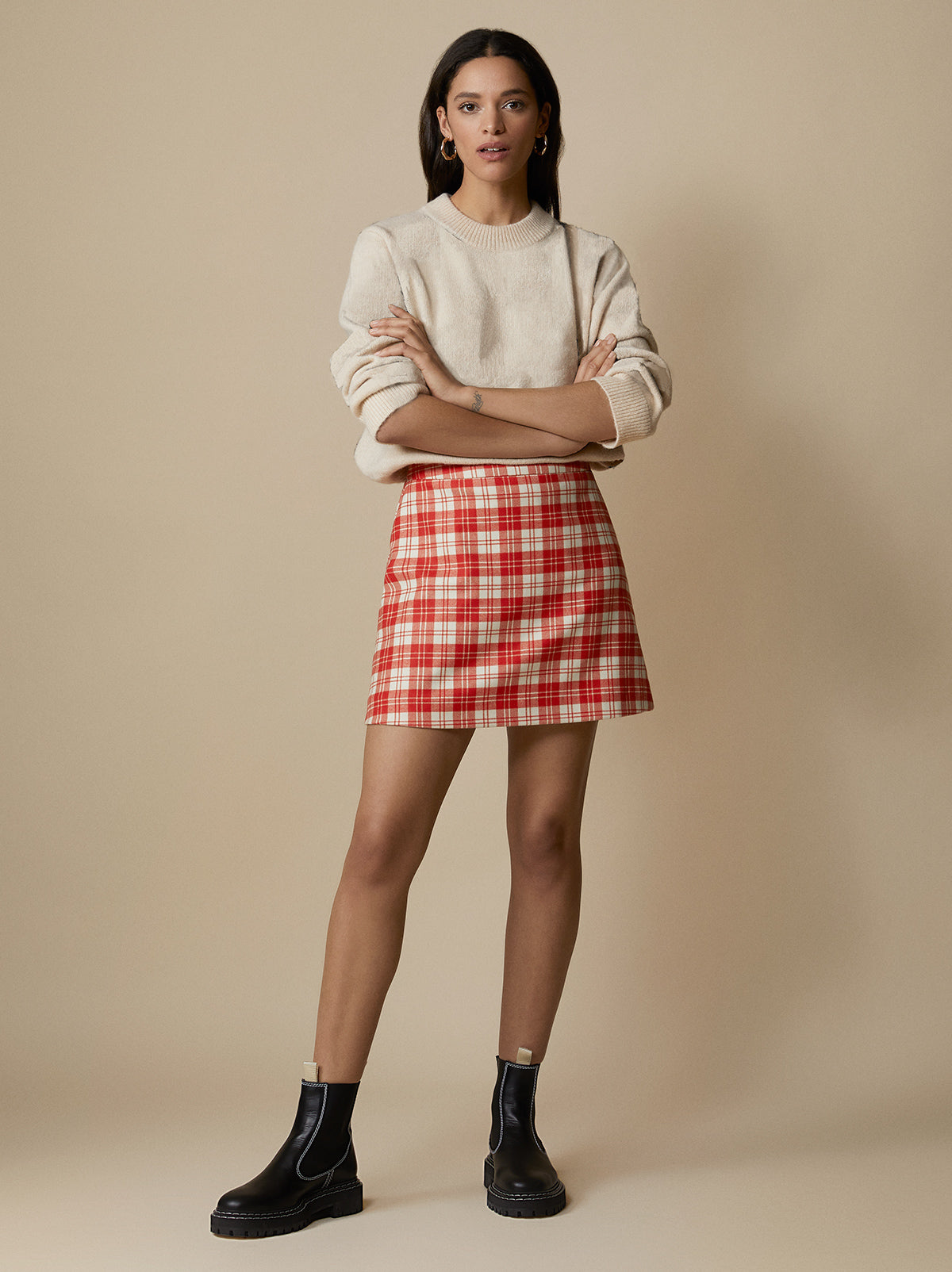 Billie Mini Skirt by KITRI Studio