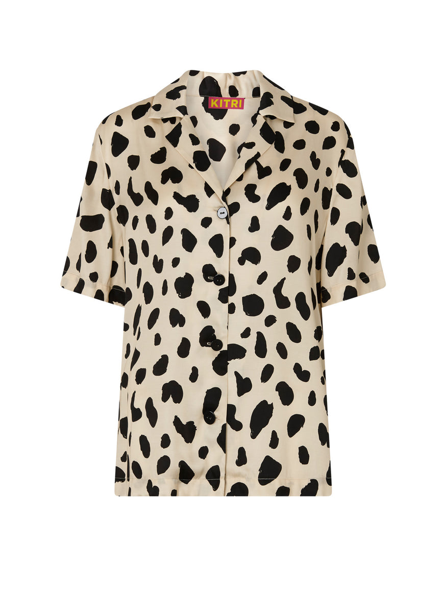 Cammy Animal Spot Top by KITRI Studio