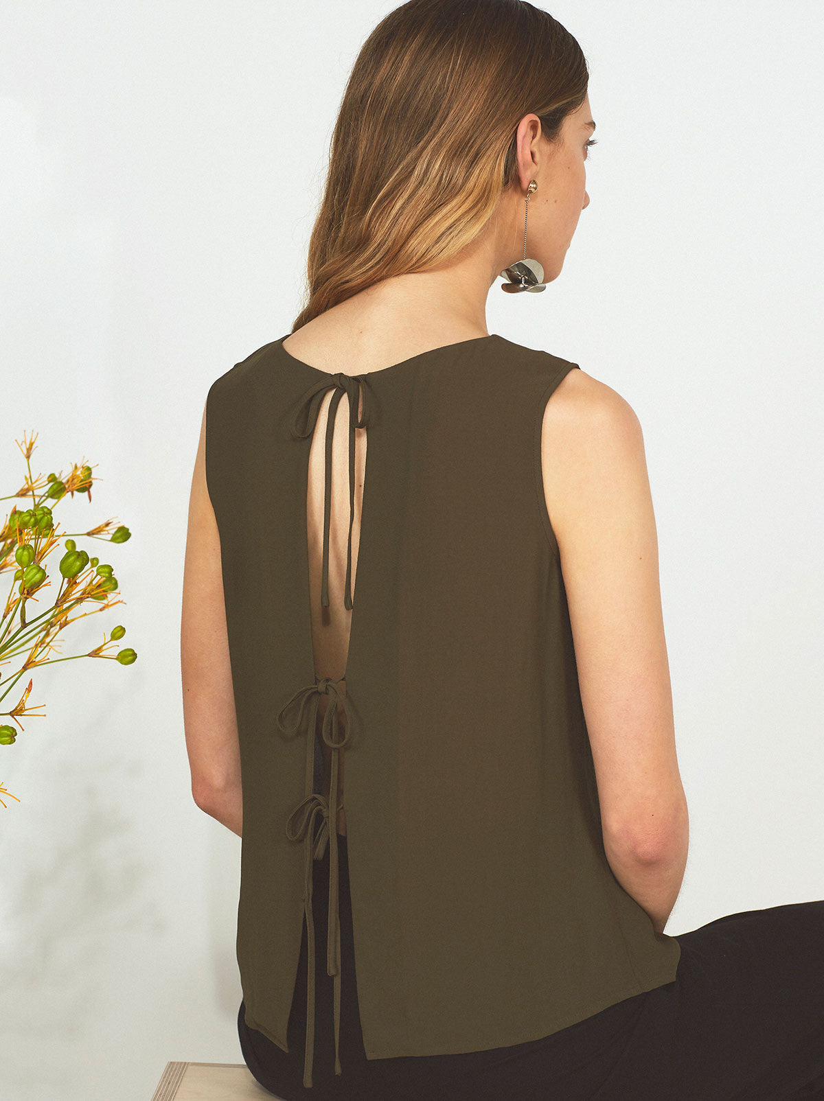 Leanne Tie Back Top