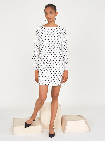 Lise Frill Polka Dot Dress