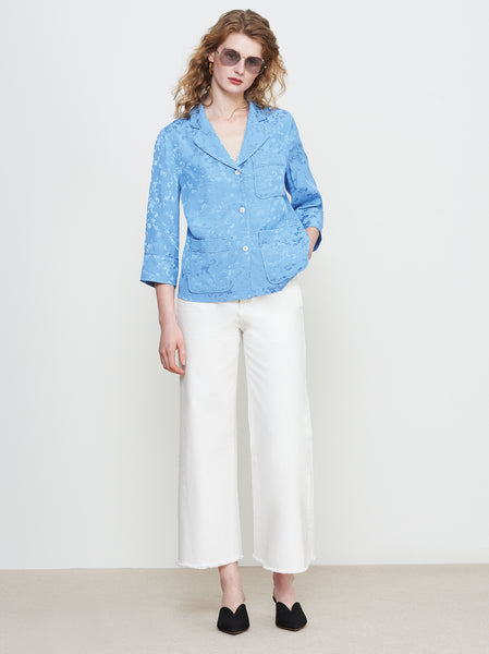 Mayara Cornflower PJ Blouse by KITRI Studio