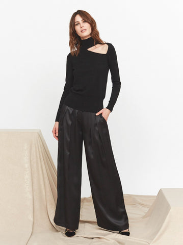 Mia Cut Out Turtleneck Jumper