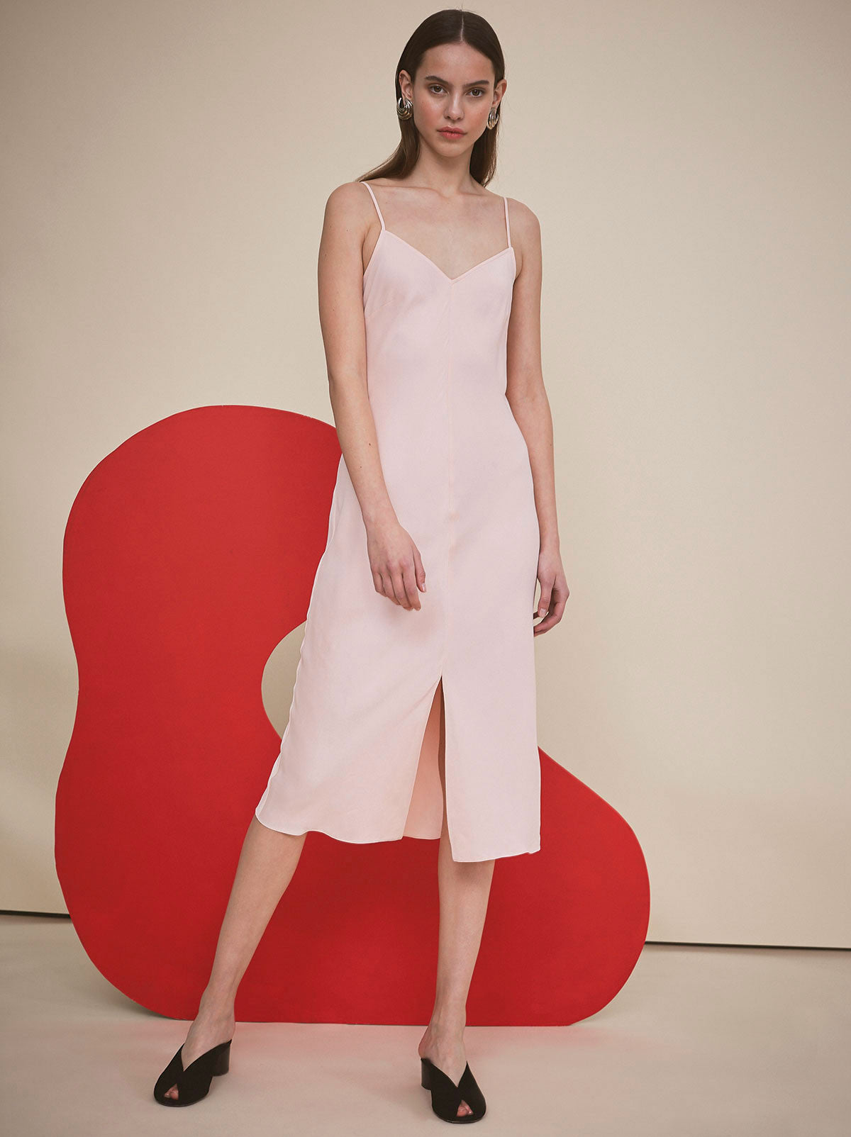 Ondine Pink Slip Dress