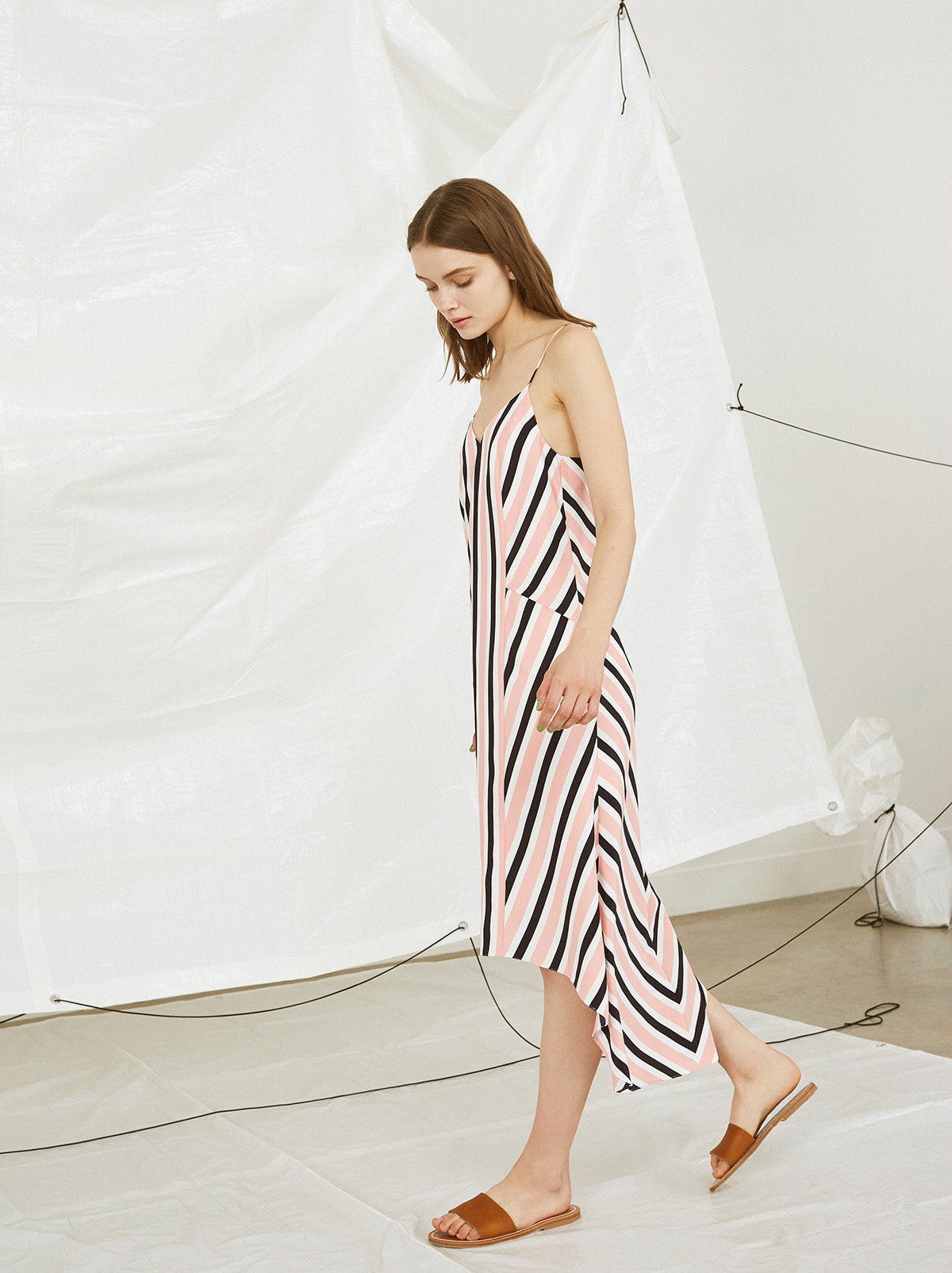 Tait Striped Cami Dress