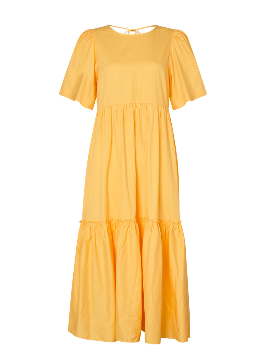 Juicy Yellow Cotton Dress by KITRI Studio