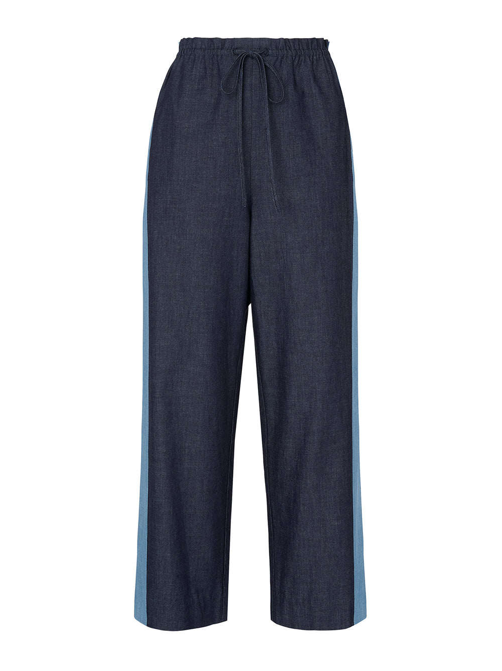 Kaia Chambray Trousers Mannequin by KITRI Studio