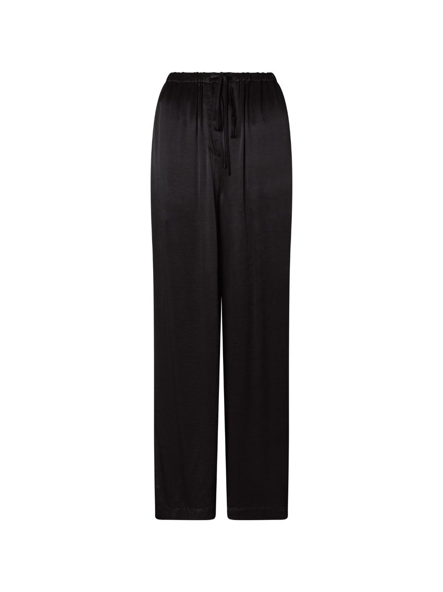 Kent Luxe Satin Drawstring Trousers