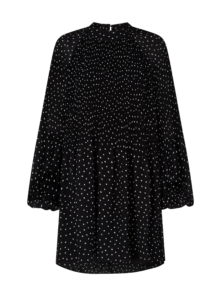 Kiara Polka Dot Mini Dress