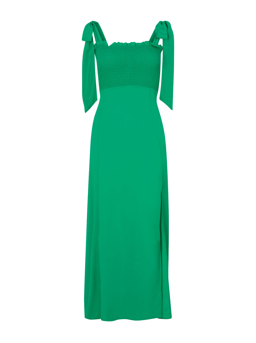 Pre-order: Leanne Green Smocked Dress