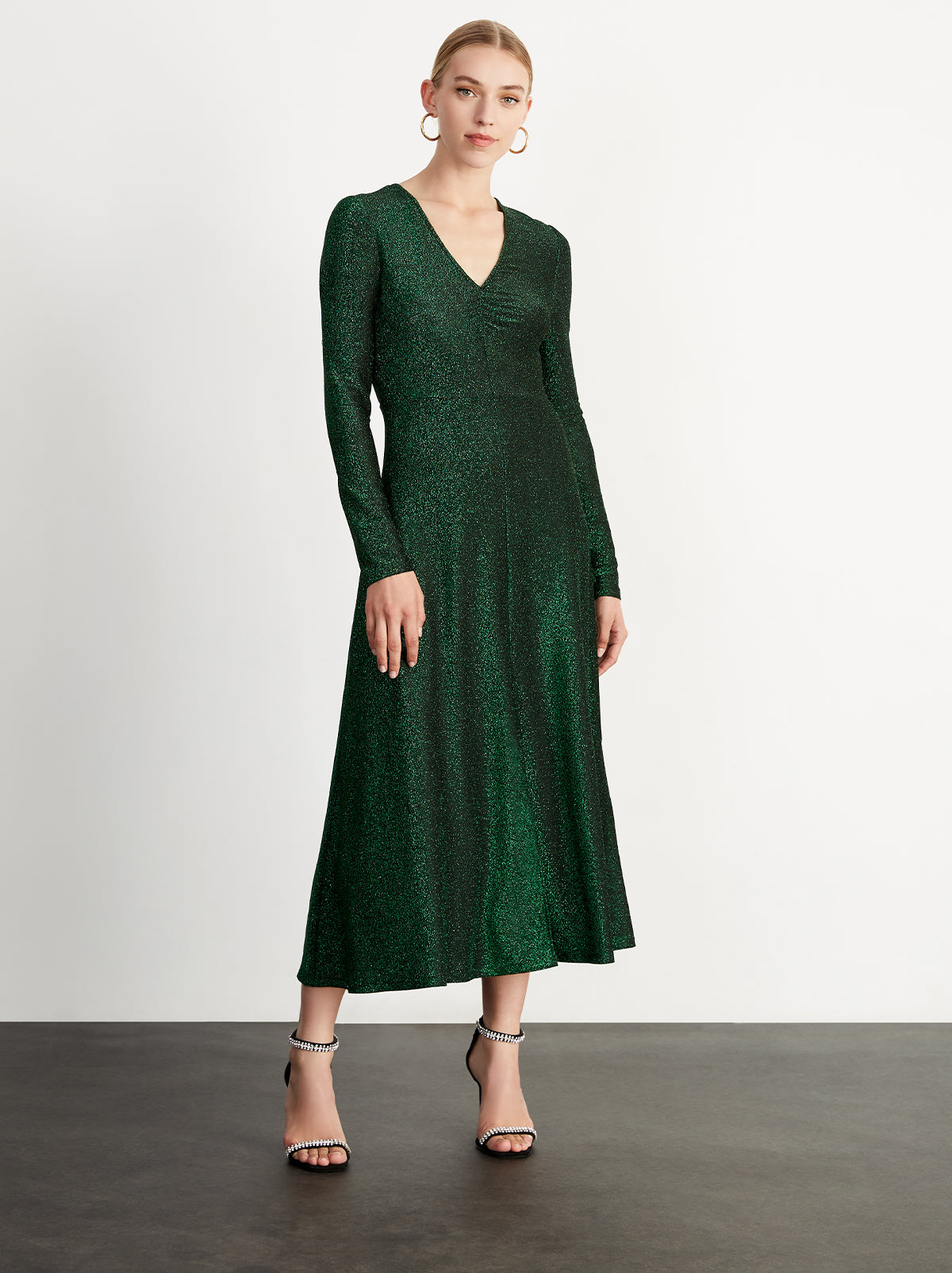 Lily Green Midi Dress by KITRI Studio