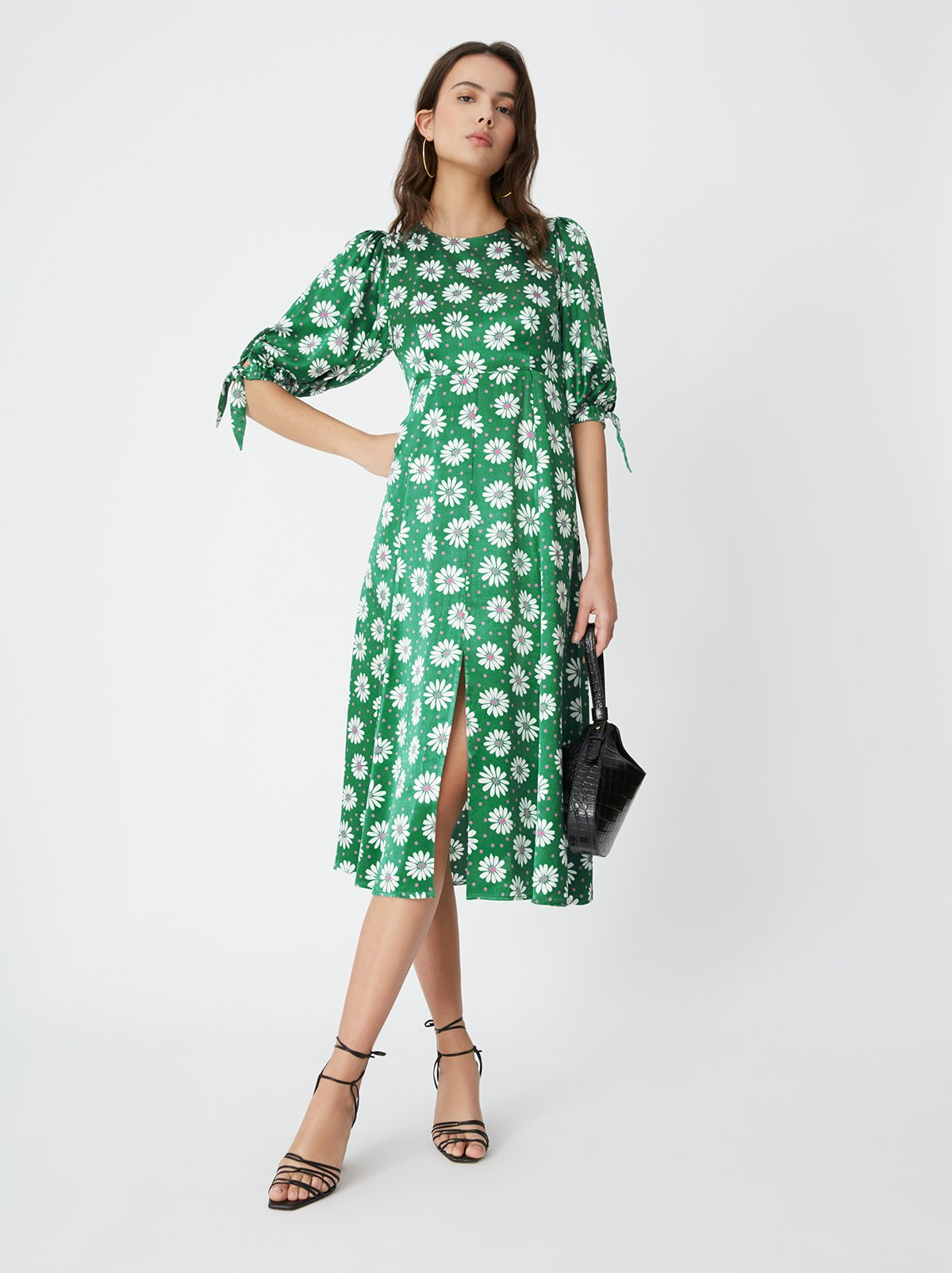 Lorelle Daisy Print Midi Dress by KITRI Studio