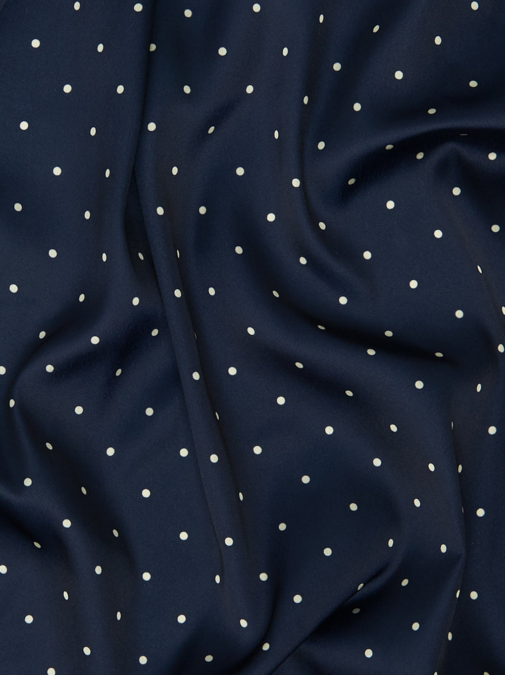 Tara Navy Polka Dot Shirt Dress
