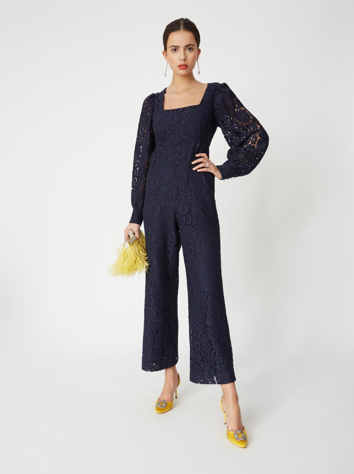 Odette Lace Jumpsuit by KITRI Studio