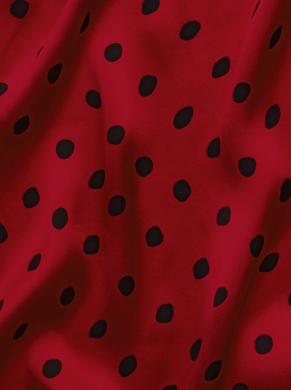 Rebecca Red Polka Dot Mini Dress