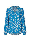 Sadie Blue Daisy Print Top