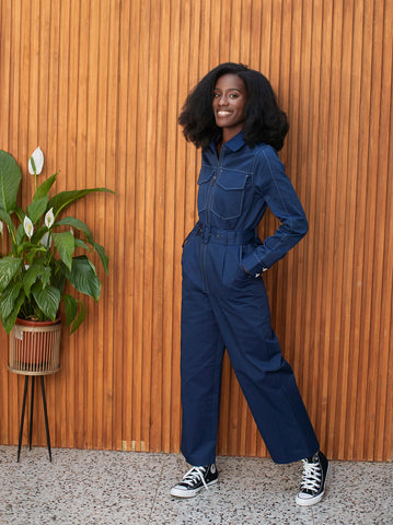 Scout Blue Tailored Jumpsuit