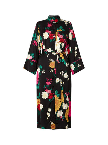 Sophie Floral Shirt Dress by KITRI Studio
