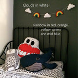 Rainbow and Cloud Garland Longer