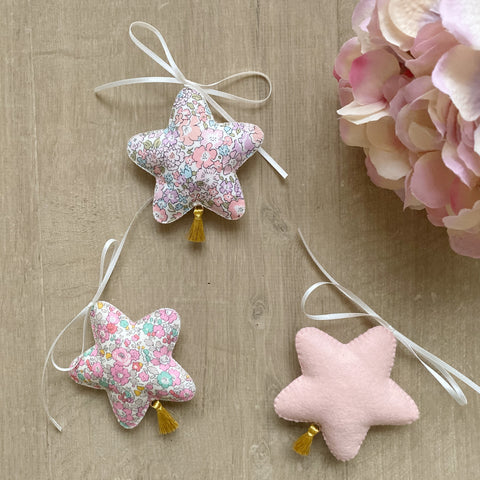 Tassel star decoration. Back soon