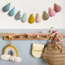 Load image into Gallery viewer, Springtime Droplet garland (Bestseller). Made to order for Pre-Christmas Delivery