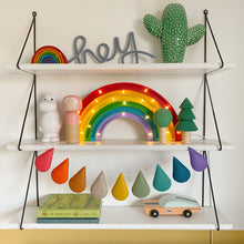 Load image into Gallery viewer, Droplet garland- Rainbow Colour Pop - Made to order.