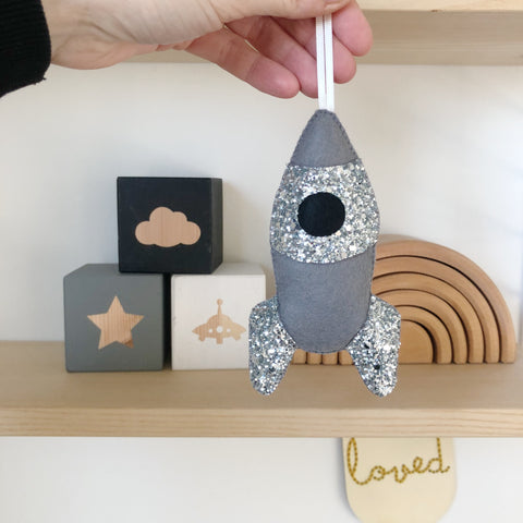 Rocket Decoration - Created in your custom colours
