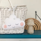 Little Sleepy Cloud Decoration - Created in your custom colours
