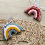 Rainbow Decoration - Created in your custom colours. Made to order within 4 weeks