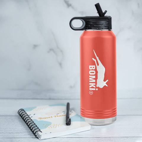 BOMKI stainless steel water bottle