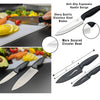 BOMKI 13 PC Grilling & Cooking Essentials - Black