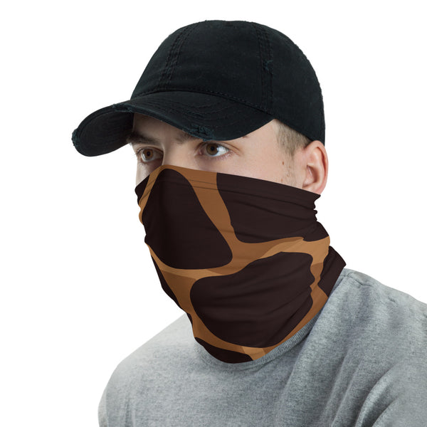 Giraffe Skin Pattern Multifunctional Face Mask Headwear Neck Gaiter All Elements Protection - butiksonline