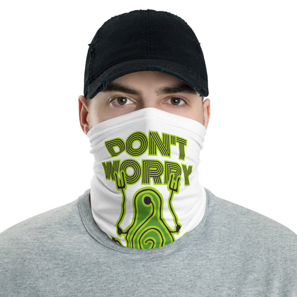Don't Worry Multifunctional Face Mask Headwear Neck Gaiter All Elements Protection - butiksonline