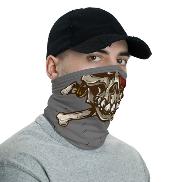 Pirate Skull Multifunctional Face Mask Headwear Neck Gaiter All Elements Protection - butiksonline
