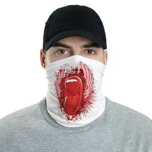 Screaming Mouth Multifunctional Face Mask Headwear Neck Gaiter All Elements Protection - butiksonline